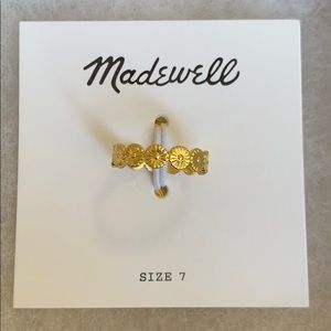 Madewell delicate daisy ring